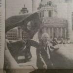 Henry Moore Skulptur am Karlsplatz